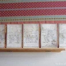 Arte: 1726-5 GRABADOS.COMEDIA ADELFOS,PUBLIO AFRICANO.SOSTRATA.CÁNTARA.SIRO.DEMEA.MICIÓN.PÁNFILA.ESQUINO.. Lote 156709826
