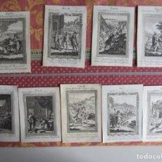 Arte: 1763-9 GRABADOS.RELIGIÓN.JESÚS.JOSÉ.DAVID.SAMUEL.GEDEÓN.MALAQUITAS.SAÚL.AMÓN.. Lote 156710258