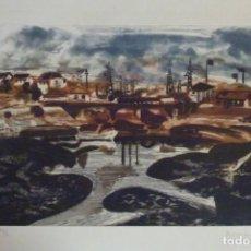 Arte: GRABADO DE MENCHU GAL. Lote 156873042