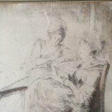 Arte: GABRIEL DE SAINT AUBIN. LITOGRAFÍA.. Lote 156957042