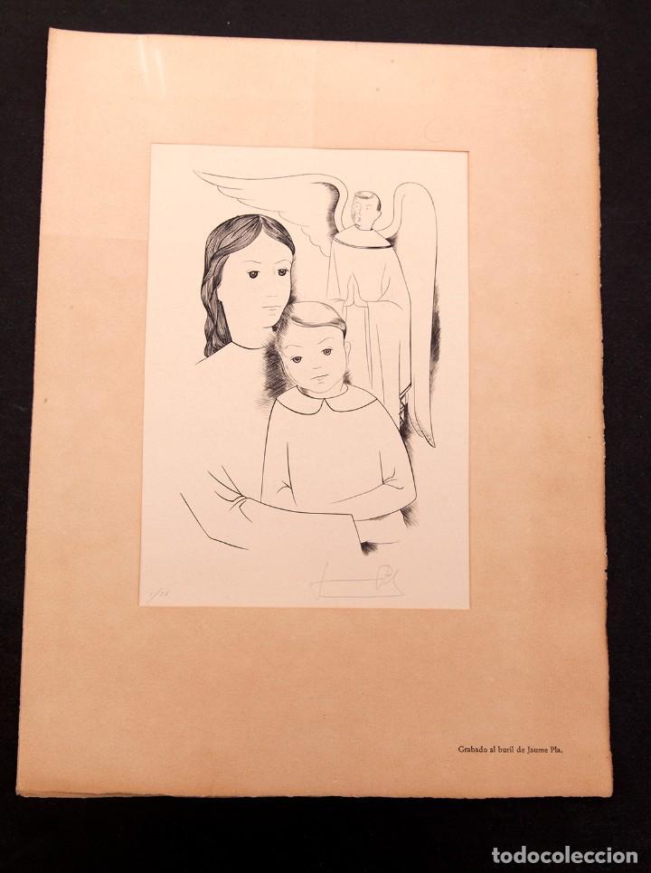 JAUME PLA - GRABADO AL BURIL - P1/25 (Arte - Grabados - Contemporáneos siglo XX)