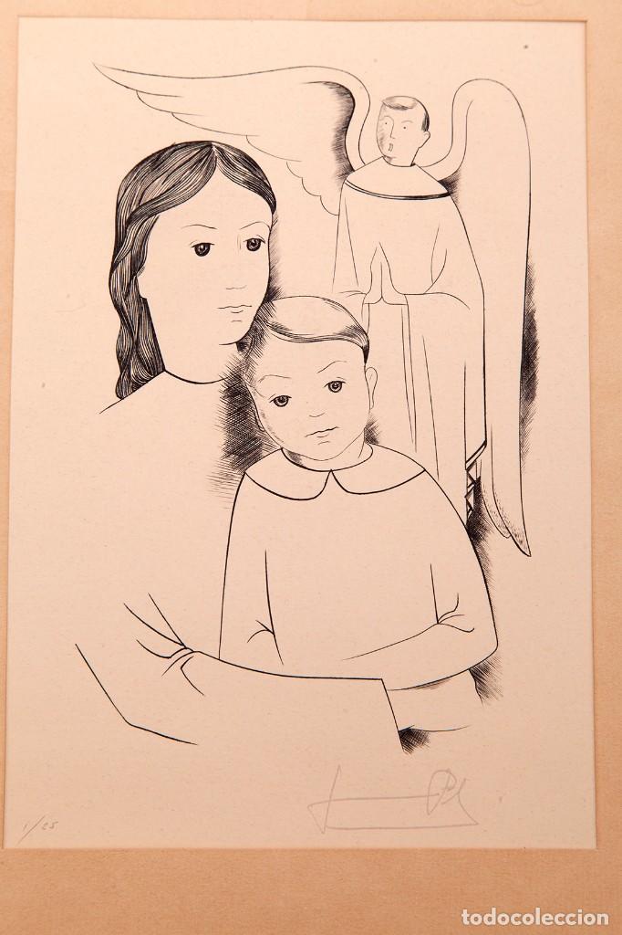 Arte: JAUME PLA - GRABADO AL BURIL - P1/25 - Foto 2 - 157956194