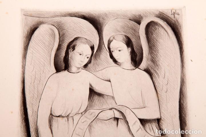 Arte: JAUME PLA - GRABADO AL BURIL - Foto 2 - 157956314