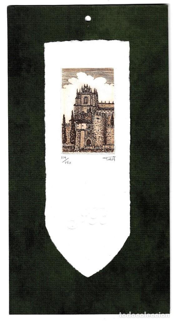 GRABADO DE TOÑO DE ANGELA NUMERADO (Arte - Grabados - Contemporáneos siglo XX)