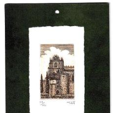 Arte: GRABADO DE TOÑO DE ANGELA NUMERADO. Lote 158529342