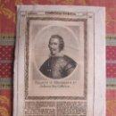 Arte: 1667-REY DE ESPAÑA FELIPE IV. GRABADO ORIGINAL. Lote 158907858