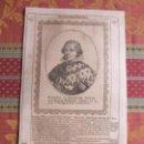 Arte: 1639-REY DE ESPAÑA FELIPE IV. GRABADO ORIGINAL DE M. MERIAN. Lote 158908170