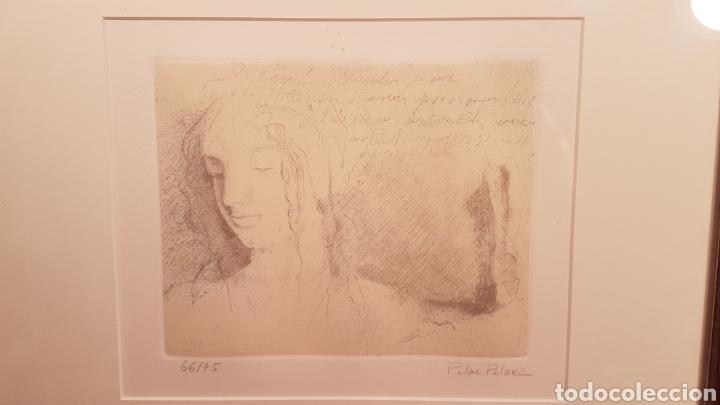 Arte: GRABADO DE PILAR PELAEZ. MADRID. Serie Numer. 66/75 - Foto 2 - 159446402