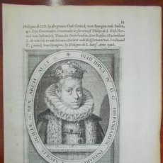 Arte: AÑO 1625. FELIPE IV. PHILIPPUS IV D. G. HISPANIARUM.. Lote 159485974