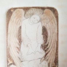 Arte: LUCY TEJADA (COLOMBIA 1920-2011) PRECIOSO GRABADO FIRMADO.. Lote 159798929