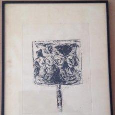 Arte: JORDI MERCADE GRABADO FIRMADO Y NUMERADO 10/100. Lote 159888994