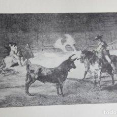 Arte: TAUROMAQUIA (GOYA) (REPRODUCCIÓN). Lote 159897198