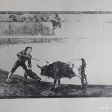 Arte: TAUROMAQUIA (GOYA) (REPRODUCCIÓN). Lote 159898114