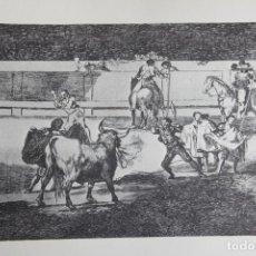 Arte: TAUROMAQUIA (GOYA) (REPRODUCCIÓN). Lote 159898226