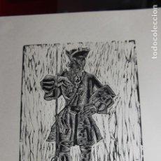 Arte: XILOGRAFÍA TEMA MILITAR SAÍNZ RUIZ. Lote 160023142