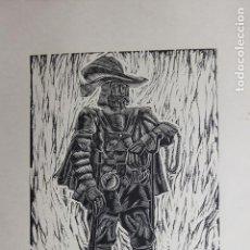 Arte: XILOGRAFÍA TEMA MILITAR SAÍNZ RUIZ. Lote 160023954