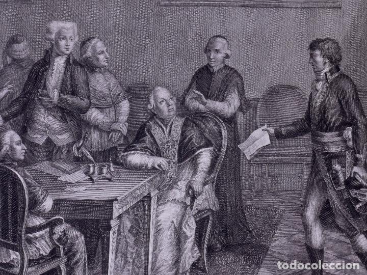 L´INVASIONE DELLE TRUPPE EN ROMA 1798 (Arte - Grabados - Antiguos hasta el siglo XVIII)