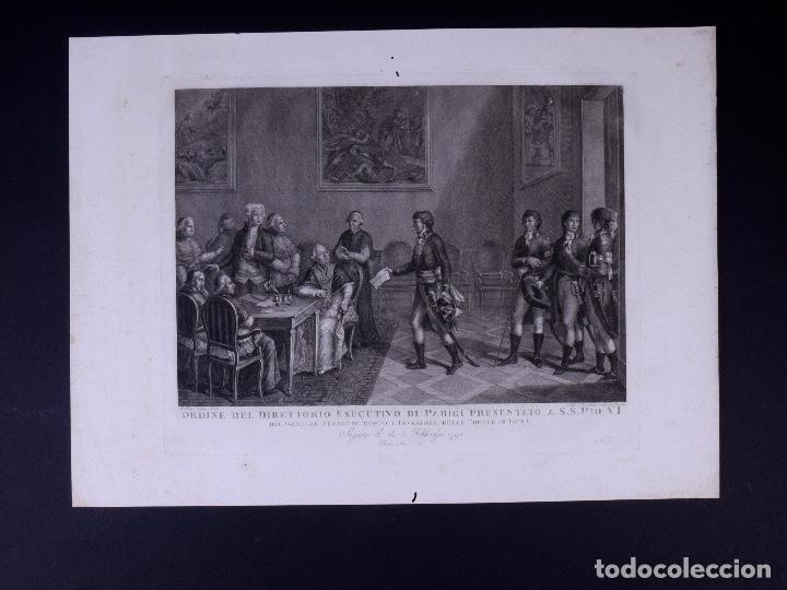 Arte: L´INVASIONE DELLE TRUPPE EN ROMA 1798 - Foto 2 - 160168578