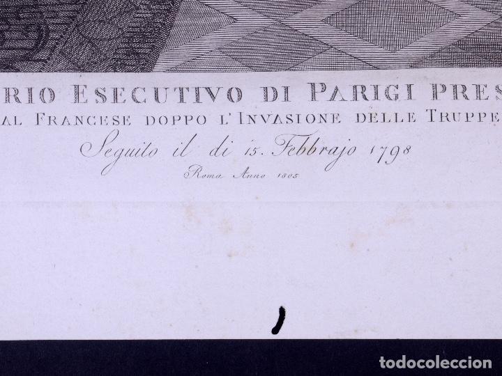 Arte: L´INVASIONE DELLE TRUPPE EN ROMA 1798 - Foto 3 - 160168578