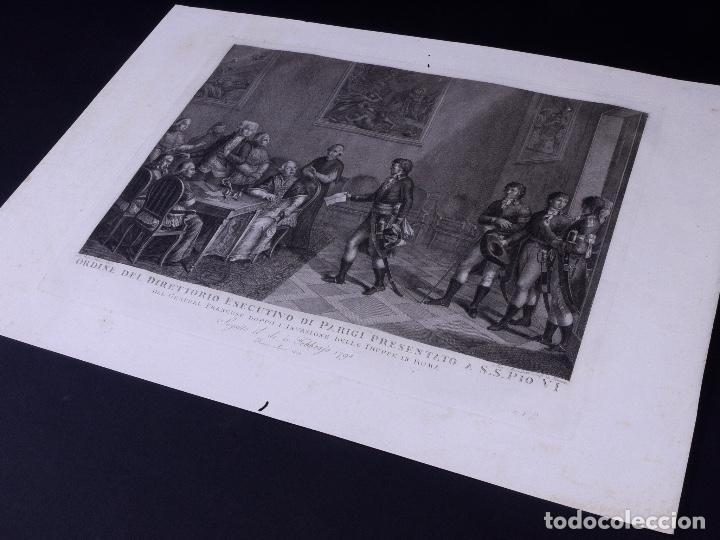 Arte: L´INVASIONE DELLE TRUPPE EN ROMA 1798 - Foto 4 - 160168578