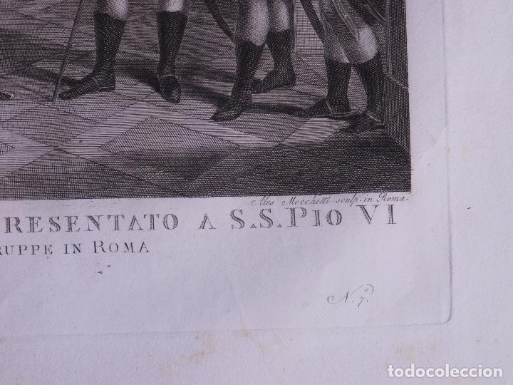 Arte: L´INVASIONE DELLE TRUPPE EN ROMA 1798 - Foto 7 - 160168578