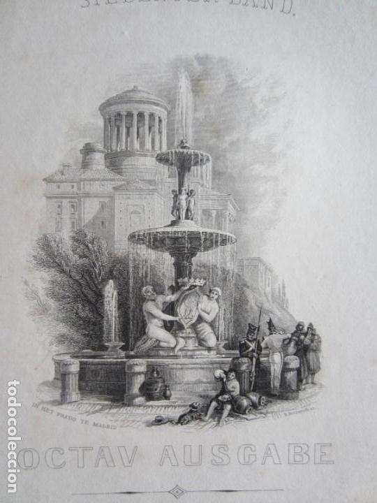 1842-GRABADO ORIGINAL. FUENTE DE MADRID (Arte - Grabados - Modernos siglo XIX)