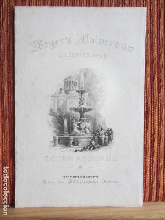 Arte: 1842-GRABADO ORIGINAL. FUENTE DE MADRID - Foto 2 - 160334042