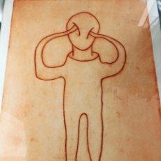 Arte: PABLO ALONSO HERRAIZ . GRABADO AL AGUAFUERTE . 50 X 40 CM. Lote 160405082
