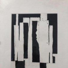Arte: ANDRES REPISO . GRABADO AL AGUAFUERTE . 40 X 30 CM. Lote 160406378