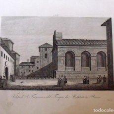 Arte: GRABADO VEDUTA DI S. FRANCESCO O DEL TEMPIO DEI MALATESTA IN RIMINI. ZUCCAGNI ORLANDINI EDIT. 1844. Lote 160524686