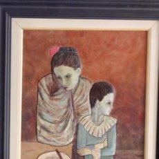 Arte: MADONA Y ARLEQUÍN. Lote 160558414