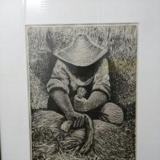 Arte: DIMITRI PERDIKIDIS. 1922-1989. GRABADO. ENVIO CERTIFICADO INCLUIDO.. Lote 160581966