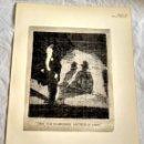 Arte: HOJA EXTRAÍDA DE LIBRO CON DOS GRABADOS, DE STELLA STEYN Y W. RICHERD SICKERT. Lote 160583466