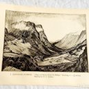 Arte: HOJA EXTRAÍDA DE LIBRO CON DOS GRABADOS, DE J. MCINTOSH PATRICK Y C.R.W. NEVINSON. Lote 160584538