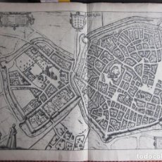 Arte: 1572-ARRÁS.ATREBATUM.FRANCIA.BRAUN-HOGENBERG.CIVITATES ORBIS.GRABADO ORIGINAL.GRANDE. Lote 160678234