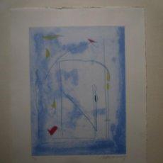 Arte: GRABADO. ALBERT RÀFOLS CASAMADA. TIRAJE: 74/75. ILUMINADO A MANO. Lote 160681554