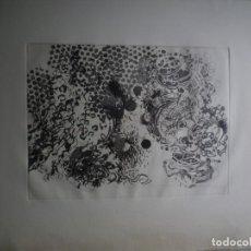 Arte: XAVIER GRAU. GRABADO. TIRAJE: 5/75. Lote 160682190