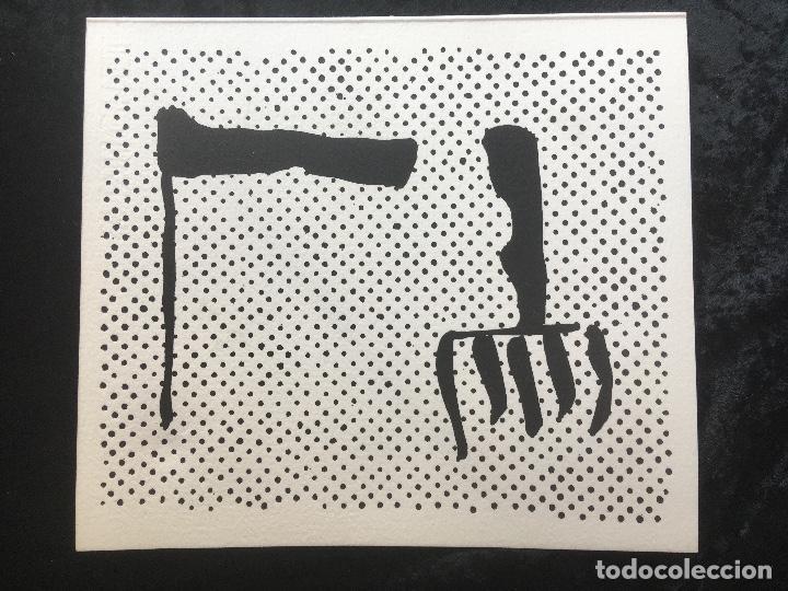 Arte: FREDERIC AMAT / OSCAR COLLAZOS - COL. TABELARIA - 7 - FIRMADO Y NUMERADO - GRABADOS EN MADERA - Foto 3 - 160693786