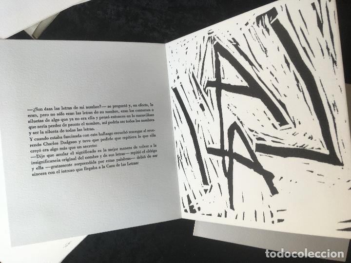 Arte: FREDERIC AMAT / OSCAR COLLAZOS - COL. TABELARIA - 7 - FIRMADO Y NUMERADO - GRABADOS EN MADERA - Foto 7 - 160693786