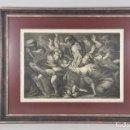 Arte: CÍRCULO DE ANNIBALE CARRACCI (BOLONIA 1560-1609) EL SACRIFICIO DE LOS INOCENTES 80 X 63 CM. Lote 160759378