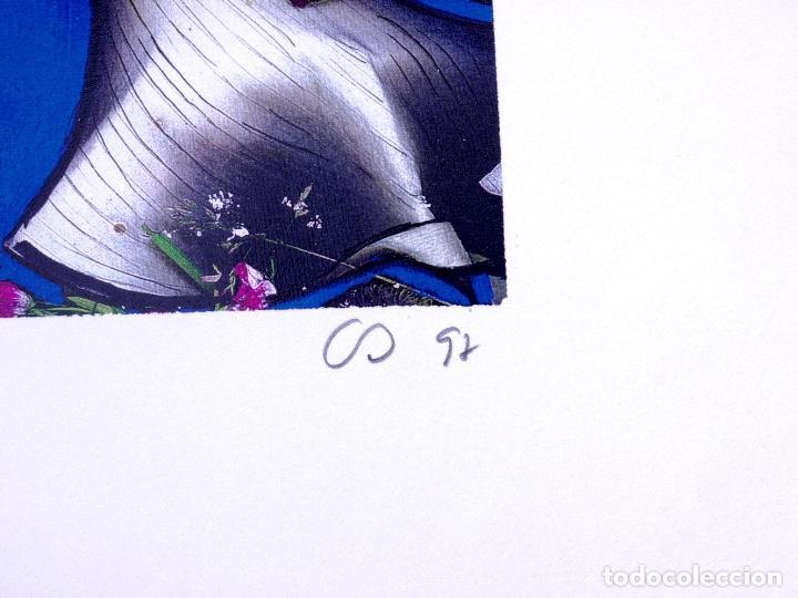 Arte: ELECTROGRAFÍA Y TÉMPERA DE CARMEN OLÁBARRI. MUSEO GUGGENHEIM BILBAO - Foto 4 - 160801122