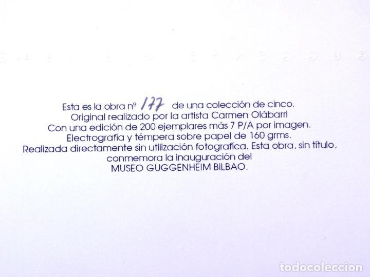 Arte: ELECTROGRAFÍA Y TÉMPERA DE CARMEN OLÁBARRI. MUSEO GUGGENHEIM BILBAO - Foto 5 - 160801122