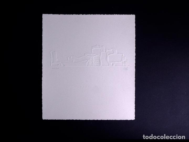Arte: GOFRADO DE ALFREDO GIL. MUSEO GUGGENHEIM BILBAO - Foto 2 - 160801474