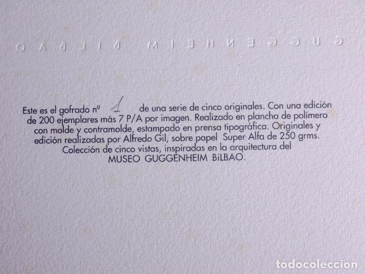 Arte: GOFRADO DE ALFREDO GIL. MUSEO GUGGENHEIM BILBAO - Foto 5 - 160801474
