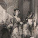 Arte: GRABADO AL ACERO DE 1844, LA ODALISCA FAVORITA, THE FAVOURITE ODALIQUE. THOMAS ALLOM, ORIENTALISTA. Lote 160886614