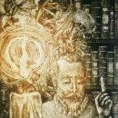 Arte: RAMÓN PÉREZ CARRIÓ - DON QUIJOTE - GRABADO CALCOGRÁFICO - NUMERADO 42/100 - FIRMADO Y FECHADO - 2004. Lote 160981890