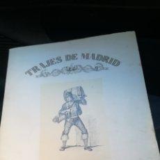 Arte: CARPETA CON 10 GRABADOS, TRAJES DE MADRID. Lote 161330214