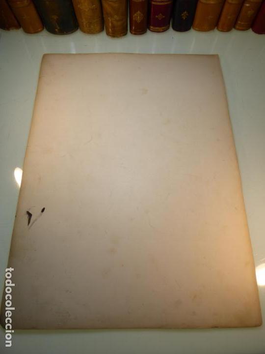 Arte: Grabado antiguo religioso. El descendimiento de la cruz. Gustave Doré. S-XIX. - Foto 6 - 161643506