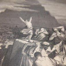 Arte: GRABADO ANTIGUO RELIGIOSO. LA TORRE DE BABEL. GUSTAVE DORÉ. C. MAURAND. S-XIX.. Lote 161644710
