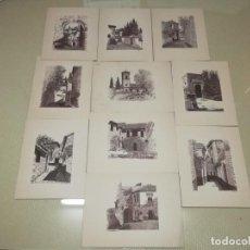 Arte: PRECIOSOS 10 GRABADOS GRANADA? DE F. DIAZ HERRERA AÑO 78 MIREN FOTOS . Lote 161725122